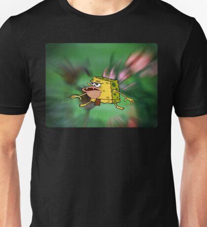 Prehistoric Caveman SpongeBob Unisex T-Shirt