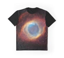 Galaxy - Helix Nebula Graphic T-Shirt