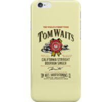 Waits iPhone Case/Skin