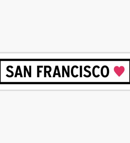 San Francisco Sticker