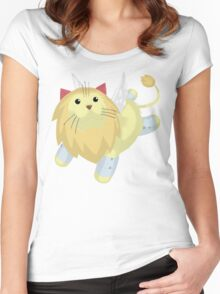 Fluffal Leo - Yu-Gi-Oh! Women's Fitted Scoop T-Shirt
