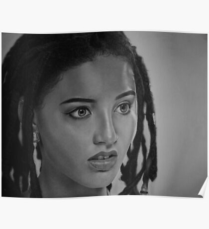 Photo-realistic Pencil Drawing Poster