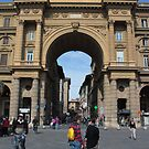 Piazza della Repubblica - Florence by rsangsterkelly