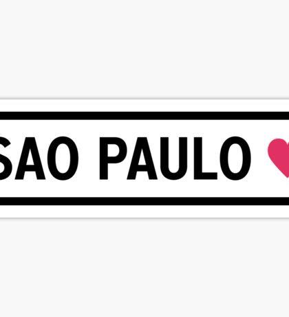 Sao Paulo Sticker