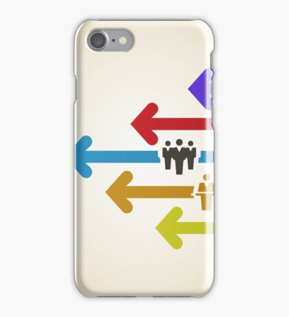 Arrow business iPhone Case/Skin