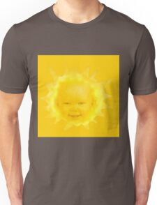 Poorly Cropped Sun-Baby From Teletubbies Unisex T-Shirt