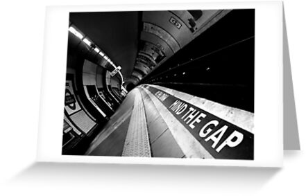 London - Underground - Mind The Gap by rsangsterkelly