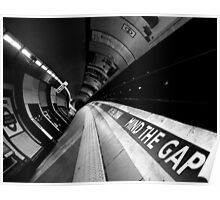 London - Underground - Mind The Gap Poster