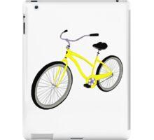 Yellow Bicycle  iPad Case/Skin