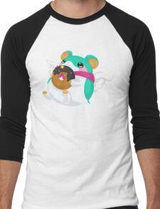 Fluffal Mouse - Yu-Gi-Oh! Men's Baseball ¾ T-Shirt