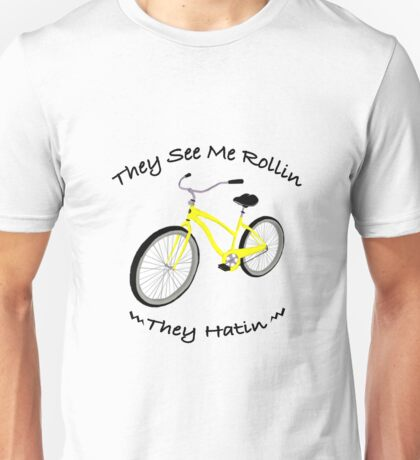 Yellow Bike Unisex T-Shirt