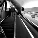 The Roman Metro - The Escalator  by rsangsterkelly