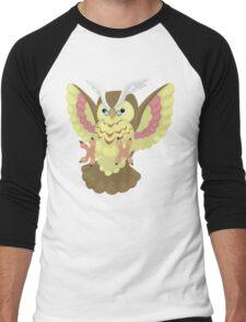 Fluffal Owl - Yu-Gi-Oh! Men's Baseball ¾ T-Shirt