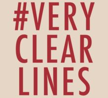 #Very Clear Lines T-Shirt