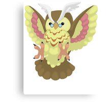 Fluffal Owl - Yu-Gi-Oh! Canvas Print