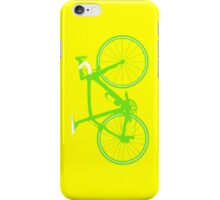 Bike Green (Big) iPhone Case/Skin