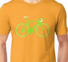 Bike Green (Big) Unisex T-Shirt