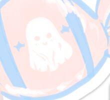 Cute Pastel Ghost Candy Sticker  Sticker