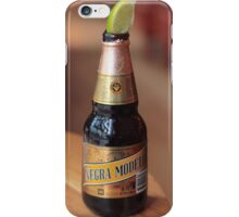 Negra Modelo iPhone Case/Skin