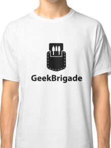 Geek Brigade pocket protector icon Classic T-Shirt