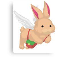 Fluffal Rabbit - Yu-Gi-Oh! Canvas Print
