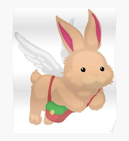 Fluffal Rabbit - Yu-Gi-Oh! Poster