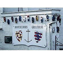 Traditional Dutch Clogs - Travel Photography Photographic Print