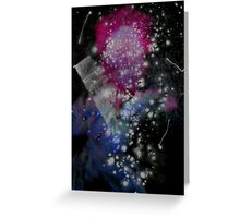Brush and Ink - 0282 - Glitter and Glam Greeting Card
