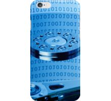 computer hard drive iPhone Case/Skin