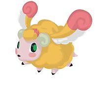 Fluffal Sheep - Yu-Gi-Oh! Photographic Print