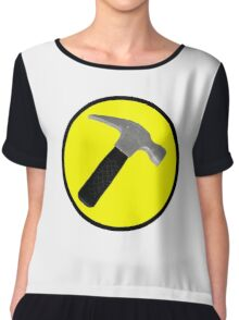 captain hammer Chiffon Top