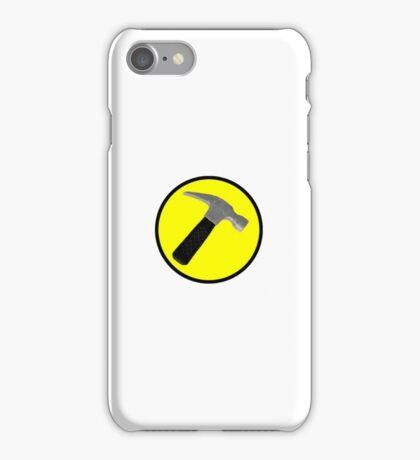 captain hammer iPhone Case/Skin