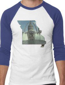 MO Downtown STL Men's Baseball ¾ T-Shirt