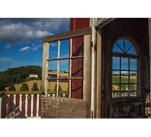 Windows to Norwegian Landscapes - Travel Photography  Photographic Print
