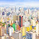 Buildings in Sao Paulo, Brazil by gianliguori