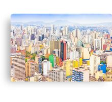 Buildings in Sao Paulo, Brazil Canvas Print