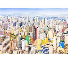 Buildings in Sao Paulo, Brazil Photographic Print