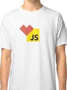 I love Javascript on white Classic T-Shirt