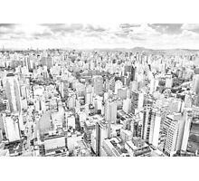 View of Sao Paulo, Brazil Photographic Print