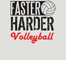 Faster harder water volleyball Womens Fitted T-Shirt