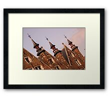 Castle Towers - Travel Photography Framed Print