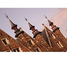 Castle Towers - Travel Photography Photographic Print