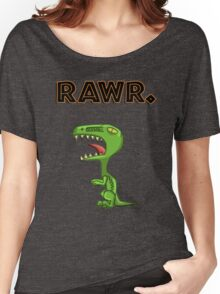 ~Small Dino Go RAWR~ Women's Relaxed Fit T-Shirt