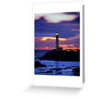 Pigeon Point Lighthouse, California Greeting Card