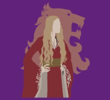 Cersei Lannister [w/ Lannister Sigil translucent] - Game of Thrones - Minimalist Design by Hrern1313