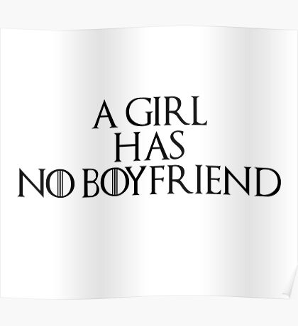 A girl... Poster