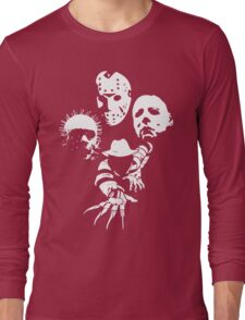 Horror Icons Long Sleeve T-Shirt