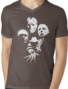 Horror Icons Mens V-Neck T-Shirt