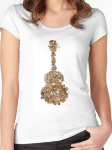 Guitar Works Women's Fitted Scoop T-Shirt