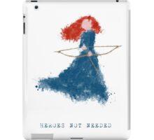Merida - heroesNOTneeded iPad Case/Skin